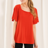 LNBF Leanne Square Neck Top- tigerlilly