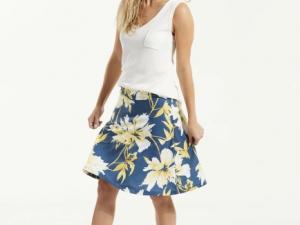 Fig Jaf Skirt- Bowerbird Carnation